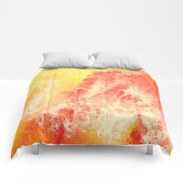 Lovers on the Sun Comforters