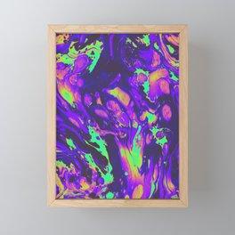 TURN ON THE BRIGHT LIGHTS Framed Mini Art Print
