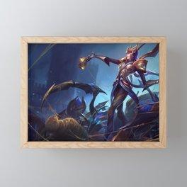 Victorious Elise League of Legends Framed Mini Art Print