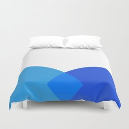 Abstract Blue Duvet Cover