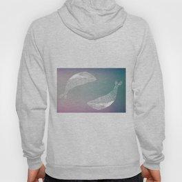 fogged film whale Hoody