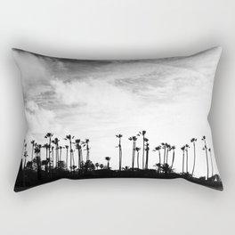Palm Trees Standing Tall Rectangular Pillow