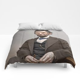 Abraham Lincoln Painting Comforters