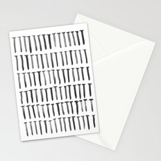 Nails watercolor Stationery Cards