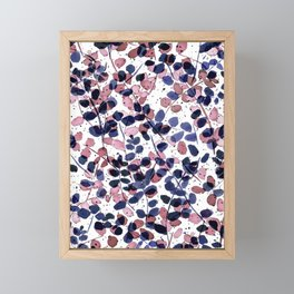 Synergy Indigo Framed Mini Art Print