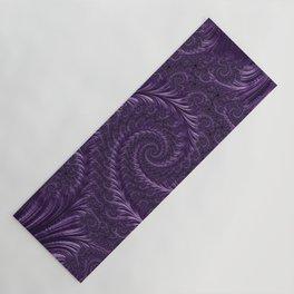 Deep Purple Yoga Mat