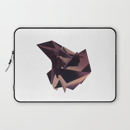 3D purple flying object Laptop Sleeve