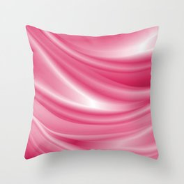 Soft Silk Satin 11 Throw Pillow