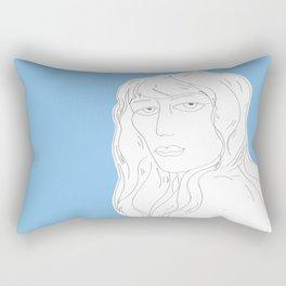 Girl, I see you Rectangular Pillow