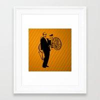 bill murray Framed Art Prints featuring Bill Murray by Spyck