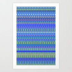 Color Stripes 2 Art Print