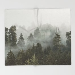 Adventure Times - Nature Photography Throw Blanket