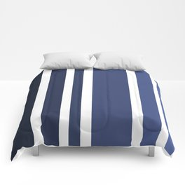 Striped Ombre in Blue Comforters