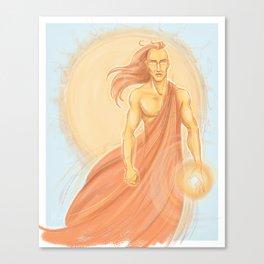 Sun God Canvas Print