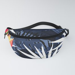 Bold Tropical Paradise Design Fanny Pack
