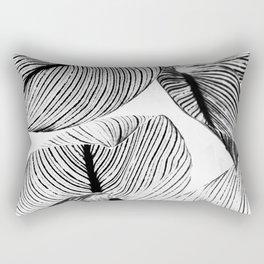 Unbridled - bw Rectangular Pillow