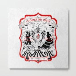 The Night Circus - light Metal Print