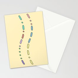 Thank You in Morse Code Stationery Cards
