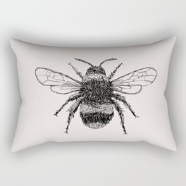Three Bees Rectangular Pillow