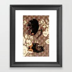 Dueling Phonographs V Framed Art Print