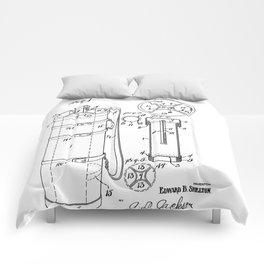 Golf Bag patent 1929 Comforters