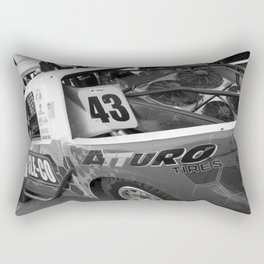 Track Noir TORC #7 Rectangular Pillow