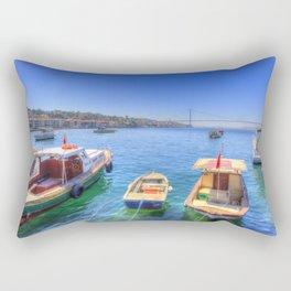 The Bosphorus Istanbul Rectangular Pillow