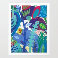 Secret garden IV Art Print