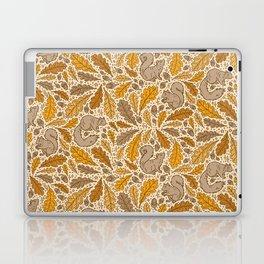 Oak & Squirrels   Autumn Yellows Palette Laptop & iPad Skin