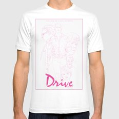 Drive Mens Fitted Tee MEDIUM White