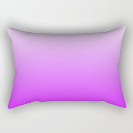 White and Magenta Gradient 041 Rectangular Pillow