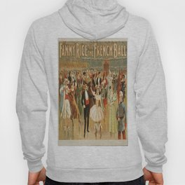 Vintage poster - Fanny Rice at the French Hoody