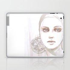 Fade fashion illustration portrait Laptop & iPad Skin