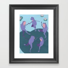 Matisse Frogs Framed Art Print