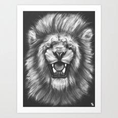 Courageous (Original drawing) Art Print