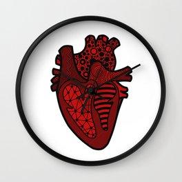Heart - Red Wall Clock
