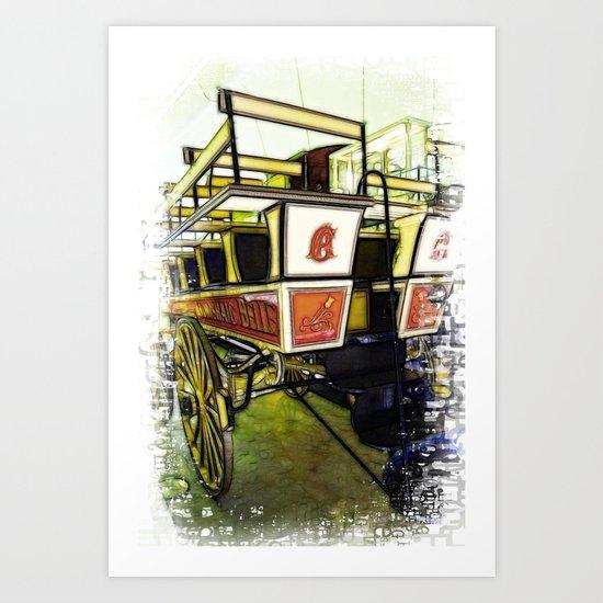 Your Carriage Awaits Art Print