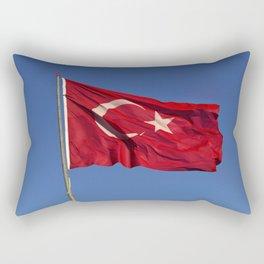 Flag Of Turkey Rectangular Pillow