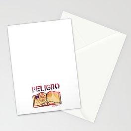 DANGER- PELIGRO Stationery Cards