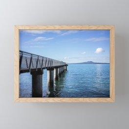 Fishing Pier Framed Mini Art Print
