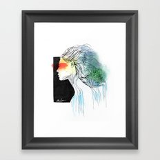 Mother of the Earth Framed Art Print