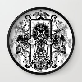 Time Inverted Wall Clock