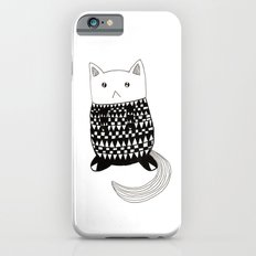 Cat with pattern  iPhone 6s Slim Case