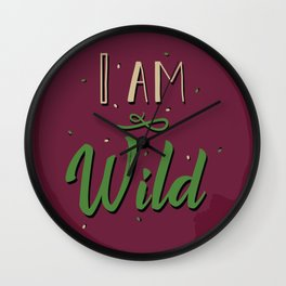 """I am wild,"" replied Grantaire. Wall Clock"