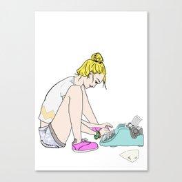 Type Me Canvas Print