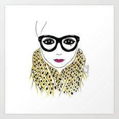 Alicia Frank Custom Art Print