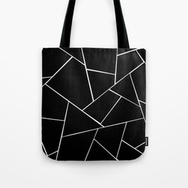 Black White Geometric Glam #2 #geo #decor #art #society6 Tote Bag