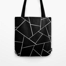 Black White Geometric Glam #2 #geo #decor #art #society6 Tote Bag