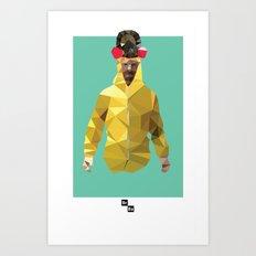 Walter White // Breaking Bad Art Print