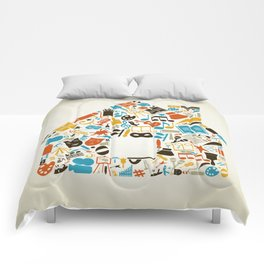 Art the house Comforters